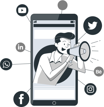 get social media exposure
